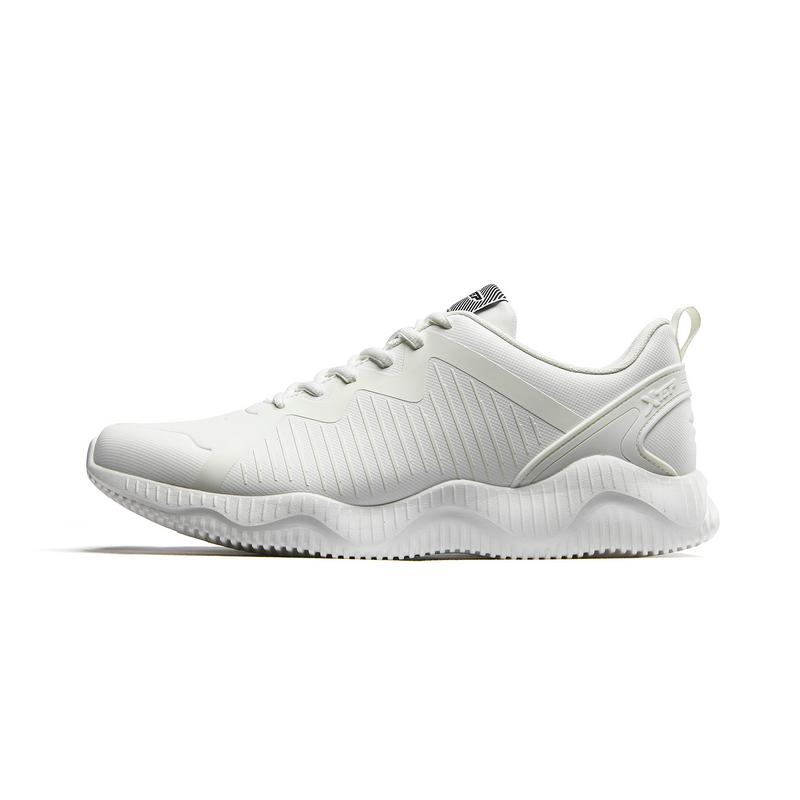 特步  男子跑鞋  革面舒适健身运动鞋子882419119530