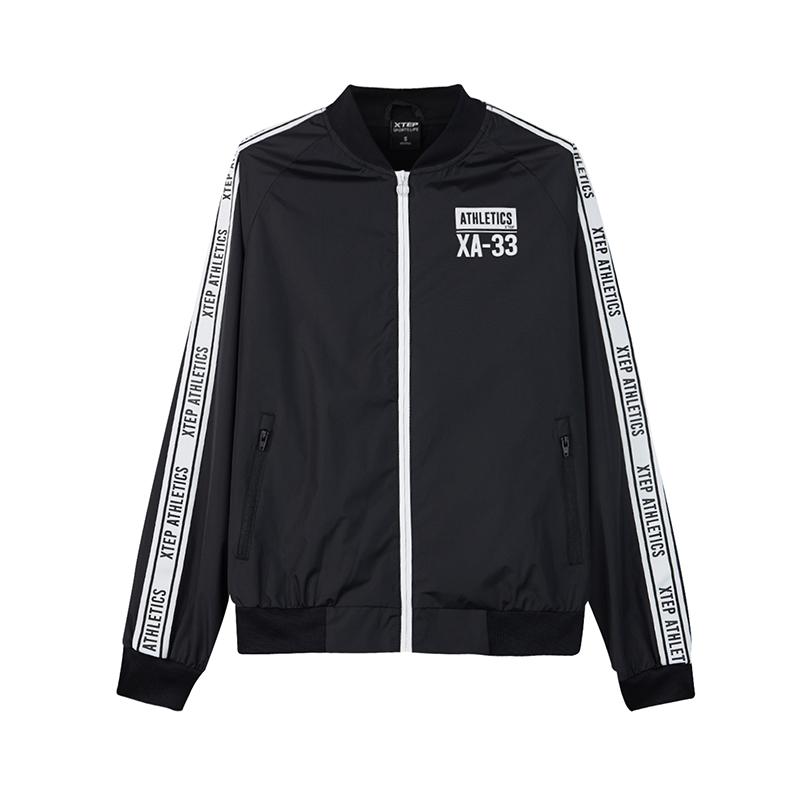 特步 专柜款 女子双层夹克 秋季时尚夹克外套982328120806