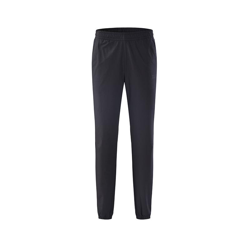 特步 专柜款 女子秋季舒适透气运动针织长裤982328980185