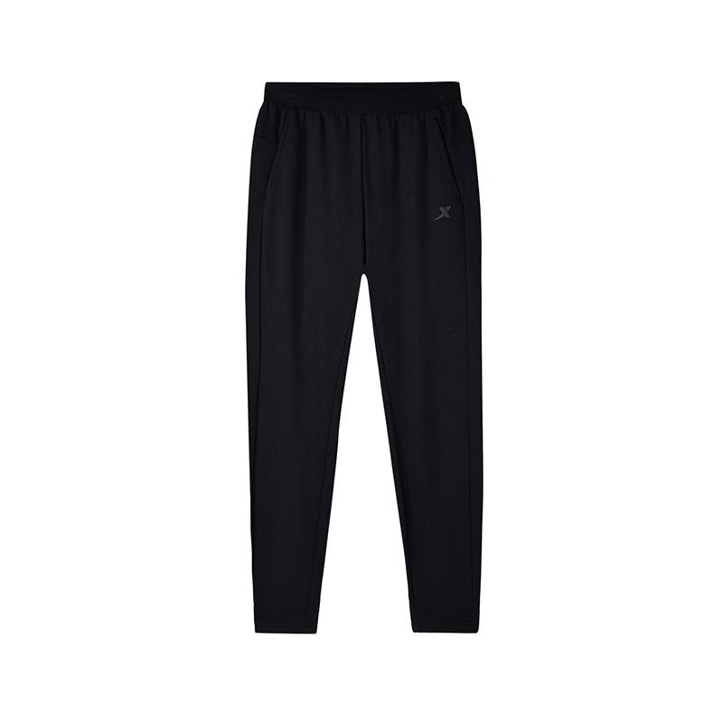 特步 专柜款 女子秋季新款舒适透气休闲活力针织长裤982328631427
