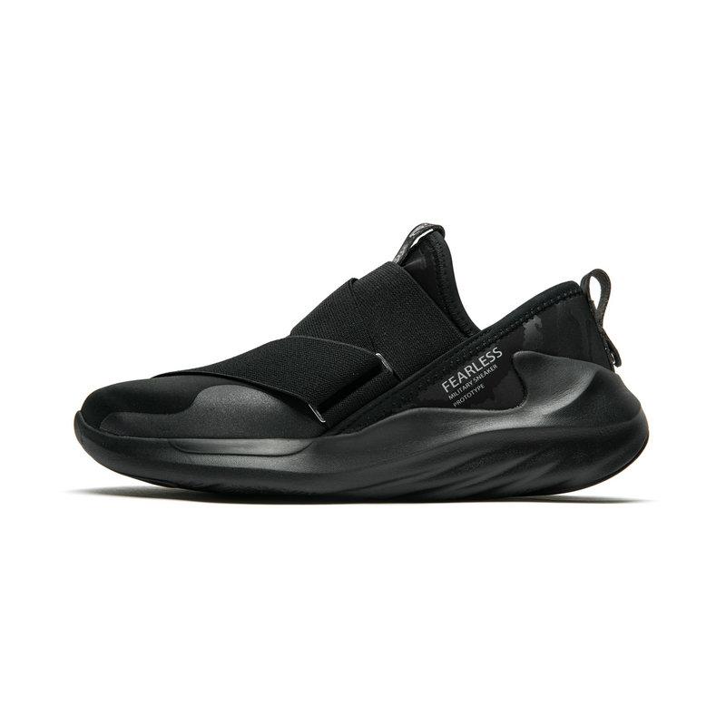 特步 专柜款 男子新款篮球鞋 黑色帅气运动鞋982319121189