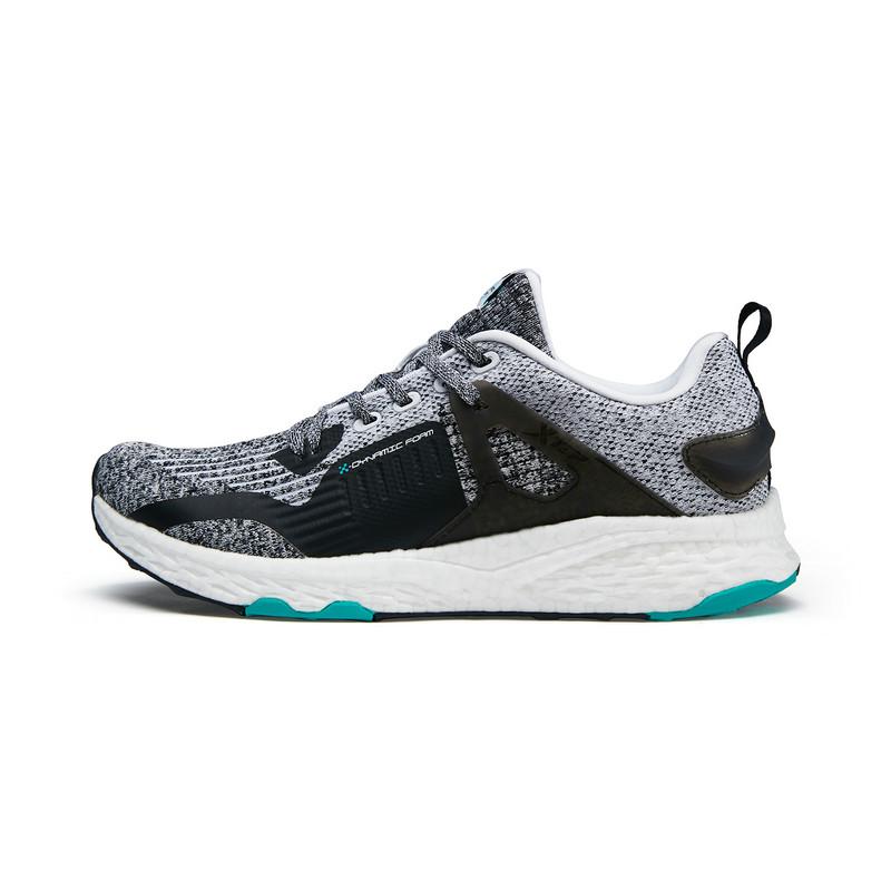 特步 专柜款 男子秋季新款网面透气舒适百搭运动跑步鞋982319110238