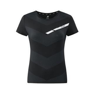 特步 专柜款 女子秋季新款马拉松运动跑步T恤982328012378