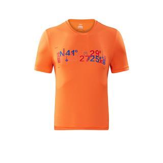 特步 男子新款舒适透气马拉松跑步短T沈阳马拉松纪念衫882429019528