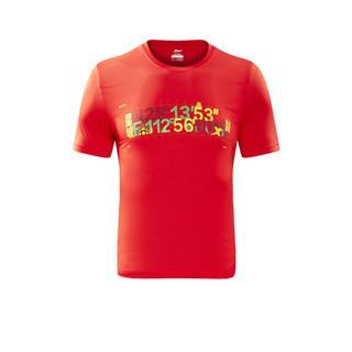 特步 专柜款 男女同款长沙马拉松跑步短T纪念款882429019527