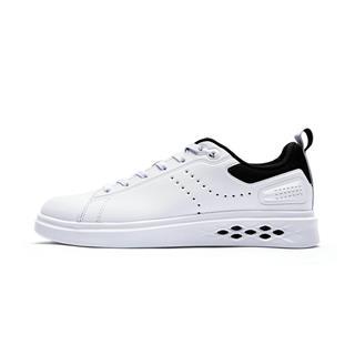 特步 专柜款 女子板鞋夏季新款小白鞋系带女鞋舒适潮流旅游鞋简约耐磨 982318315887