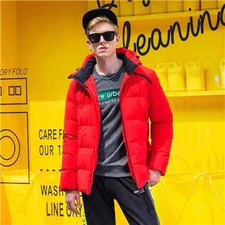 特步 男子冬季时尚轻便保暖运动时尚新款羽绒服882429199317