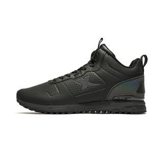 特步 专柜款 男子冬季新款舒适保暖时尚百搭棉鞋982419371052