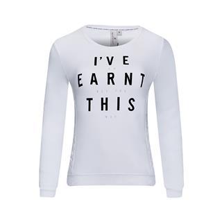 特步 专柜款 女子冬季舒适百搭时尚简约套头卫衣983428051516