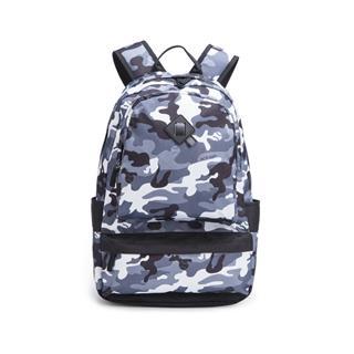 特步 男女通用双肩包迷彩系列新款校园背包882137119080