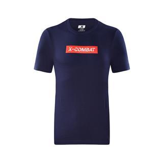 特步 专柜款 男子短袖针织衫 综训健身运动上衣982329012381