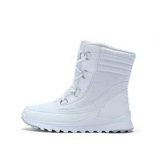 特步 专柜款 女子棉鞋 秋冬保暖厚底加绒休闲运动鞋983418371271