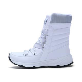 特步 专柜款 女子棉鞋 秋冬系带保暖舒适加绒革面高帮运动鞋983418371391