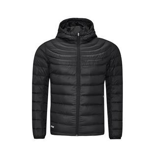 特步 专柜款 男子羽绒服 舒适柔软连帽保暖冬季厚外套983429190726