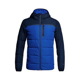 特步 专柜款 男子羽绒服 冬季保暖连帽加厚柔软舒适外套983429190616