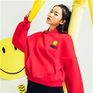 特步 专柜款 【Smiley联名款】女子冬季潮流时尚舒适百搭卫衣982428051786