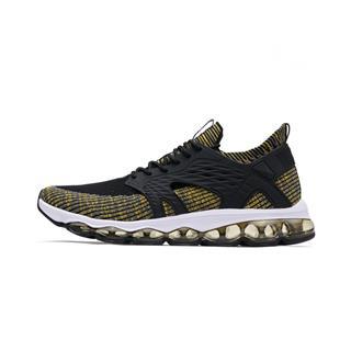 特步 男鞋跑鞋夏季新款袜套全掌气垫跑步鞋子编织休闲运动鞋男 982319119061