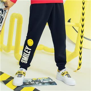 【Smiley】特步男子运动长裤针织裤2018秋冬新款Smiley联名款系列982429631518