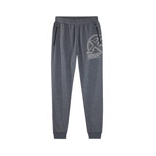 特步 男运动长裤跑步裤正品秋新款收腿针织休闲裤882329639359