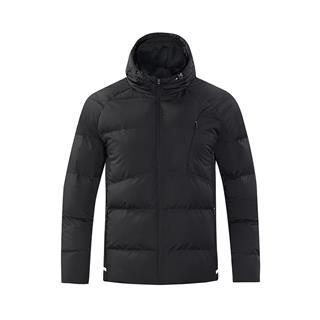 特步 男厚棉服冬季新款连帽运动休闲保暖外套882429189106