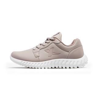 特步 女子跑鞋 革面减震透气耐磨运动鞋881118119263