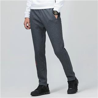 特步 男运动裤 冬季新款加绒保暖针织休闲长裤882429639102