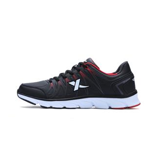特步 男子冬季跑步鞋 品革面百搭 男跑鞋运动鞋983419119503
