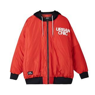 特步 男子棉服  都市系列时尚舒适保暖休闲外套882329449039