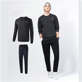特步 男子卫衣套装 舒适上衣长裤两件套882329979081