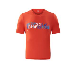 特步 专柜款 男女跑步T恤 深圳国际马拉松纪念款文化衫882429019526