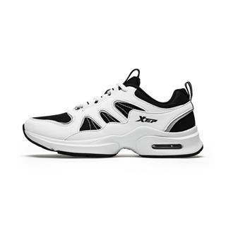 特步 专柜款 女子综训鞋 冬新款综训皮面休闲增高舞蹈鞋运动鞋982418520670