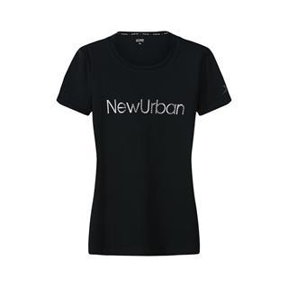 特步 专柜款 女子短袖针织衫 年秋季新款都市女子修身透气时尚短袖982328012391