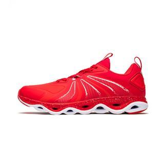 特步 专柜款 女子跑鞋 时尚舒适减震旋运动鞋982418110208