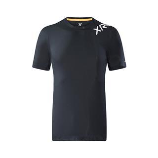 特步 专柜款 男子短袖针织衫 18秋季新品运动时尚穿搭休闲男上衣982329012370