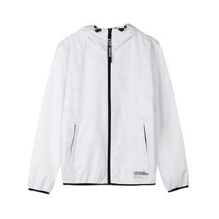 特步 专柜款 男子双层风衣 18秋季新品保暖男款运动服夹克外套982329150385
