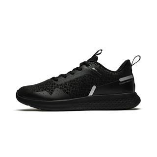 特步 专柜款 男子冬季防滑耐磨减震革面新款跑步鞋982419110139