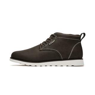 特步 专柜款 男子冬季高帮厚底时尚百搭户外运动鞋982419171573