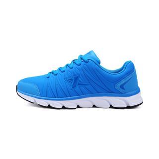 【畅销款】特步 男跑鞋 抗折皱轻质革面 轻畅运动男跑步鞋984119119517