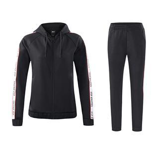 特步 女针织套装 秋季新款时尚运动套装882328969276