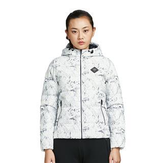 特步 专柜款 女子羽绒服时尚保暖短款外套983428190748
