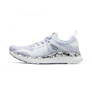 特步 专柜款 女鞋跑步鞋夏季新品动力巢科技减震跑鞋时尚织物面运动鞋982318110065