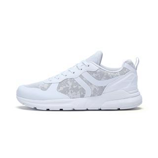 特步 专柜款 女子休闲鞋 时尚系带网面透气耐磨都市鞋982118326137
