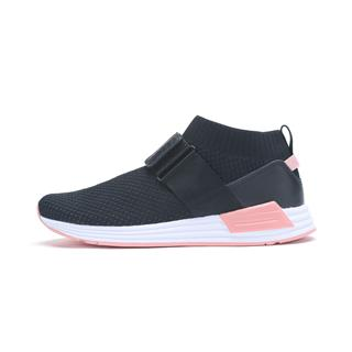 特步 专柜款 女子都市鞋 时尚绑带舒适袜套休闲鞋982118392879