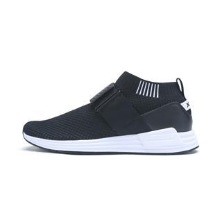 特步 专柜款 男子都市鞋 时尚网面袜套绑带休闲运动鞋982119392879