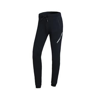 特步 专柜款 女子针织长裤 时尚纯色松紧潮流休闲舒适收脚裤982128631350