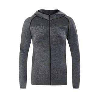 特步 女子针织上衣 19秋冬新款健身运动跑步连帽外套881128069425