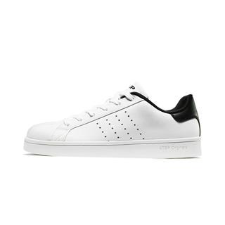 特步 男子板鞋 19新款经典轻便舒适运动低帮休闲鞋881119319271