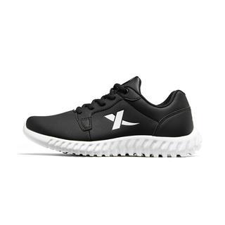 特步 男子跑鞋 柔立方减震革面运动鞋881119119263