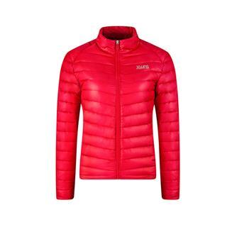 特步 女子羽绒服冬季新款 跑步系列保暖舒适轻便耐磨百搭修身外套883428199025