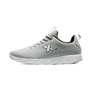 特步 男子跑鞋 19春季新款时尚耐磨系带健身运动鞋881119119360